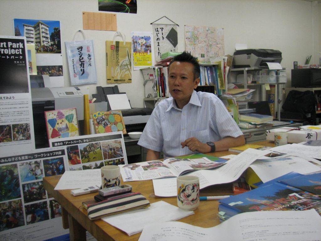 聖徳大学の大成哲雄准教授