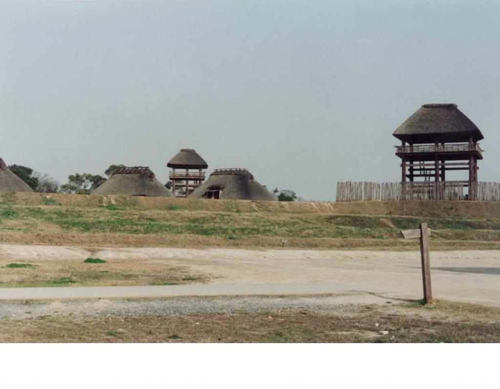 一般公開した当時の吉野ヶ里遺跡