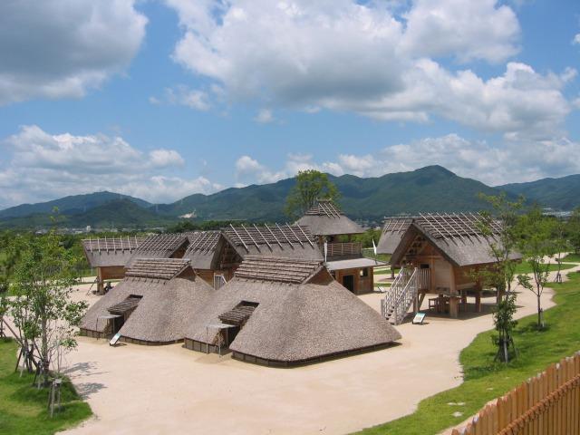 国営吉野ヶ里歴史公園 倉と市