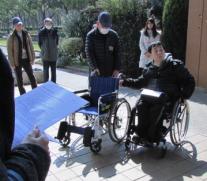 養成講座「車椅子サポートと実習」