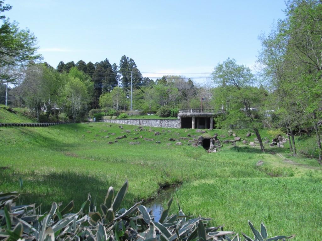 七ツ洞公園の風景