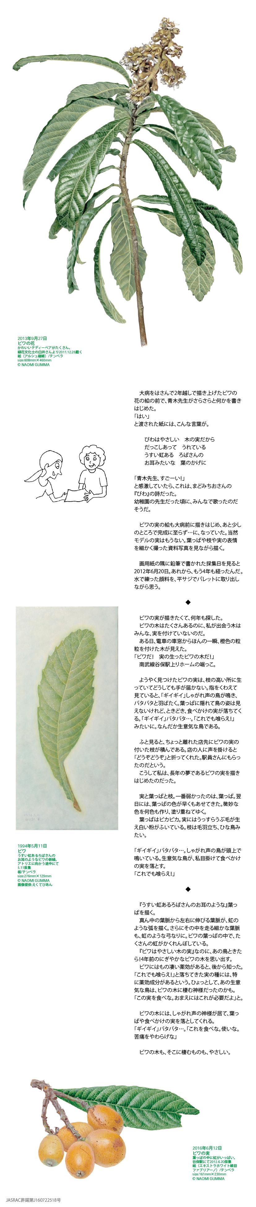 葉画家・群馬直美さんのアートコラム Second season 第4回イメージ1