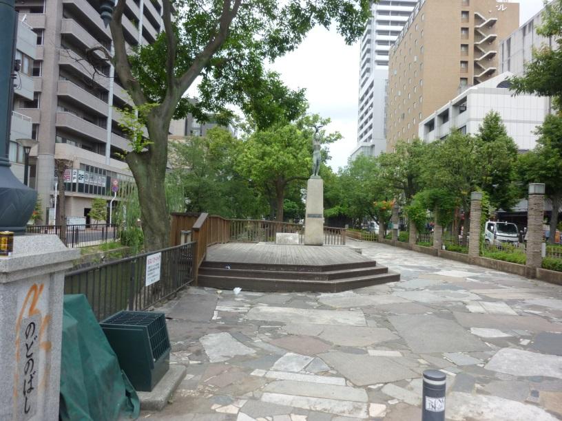 昼間の西川緑道公園