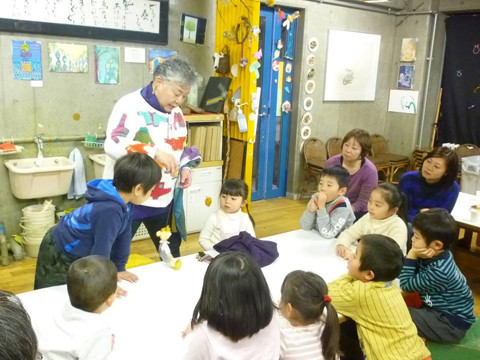 関口さんは子供たちから「ぞうかばちゃん」と呼ばれ、親しまれています