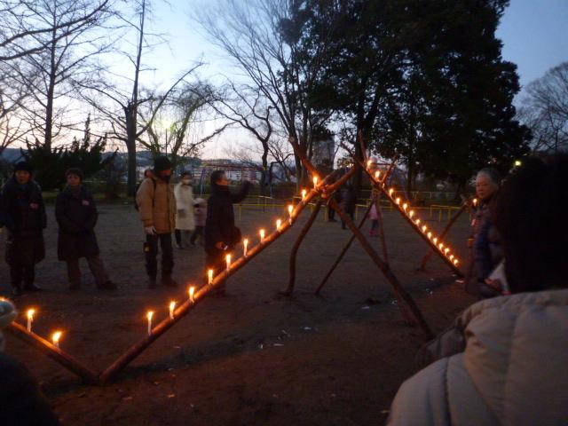 2014年12月に実施した「光のページェント」