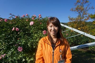 越後公園管理センター 松田哲子さん