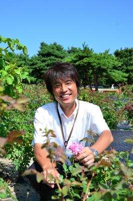ひたち公園管理センター業務課長 加藤伸治さん