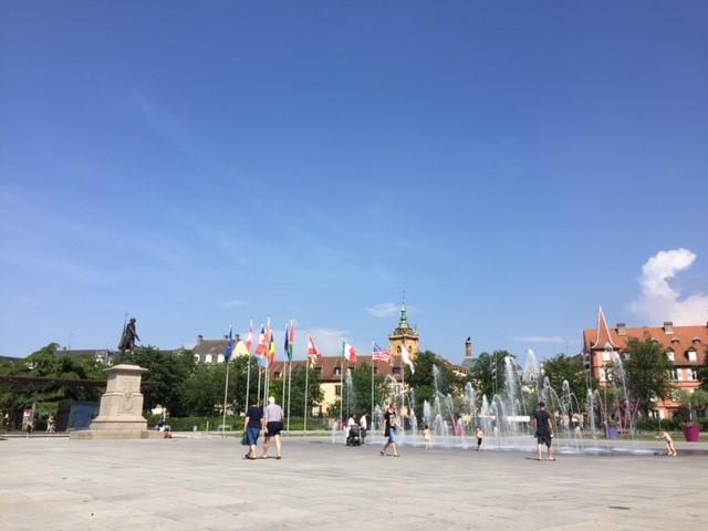 1808年に分離され、現在はプラス・ラップと呼ばれている広場