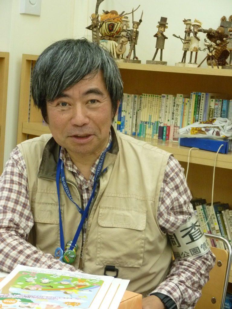 西岡ヤンマ団団長の平塚和弘さん