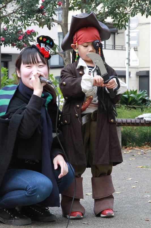 ハロウィンでの仮装コンテスト
