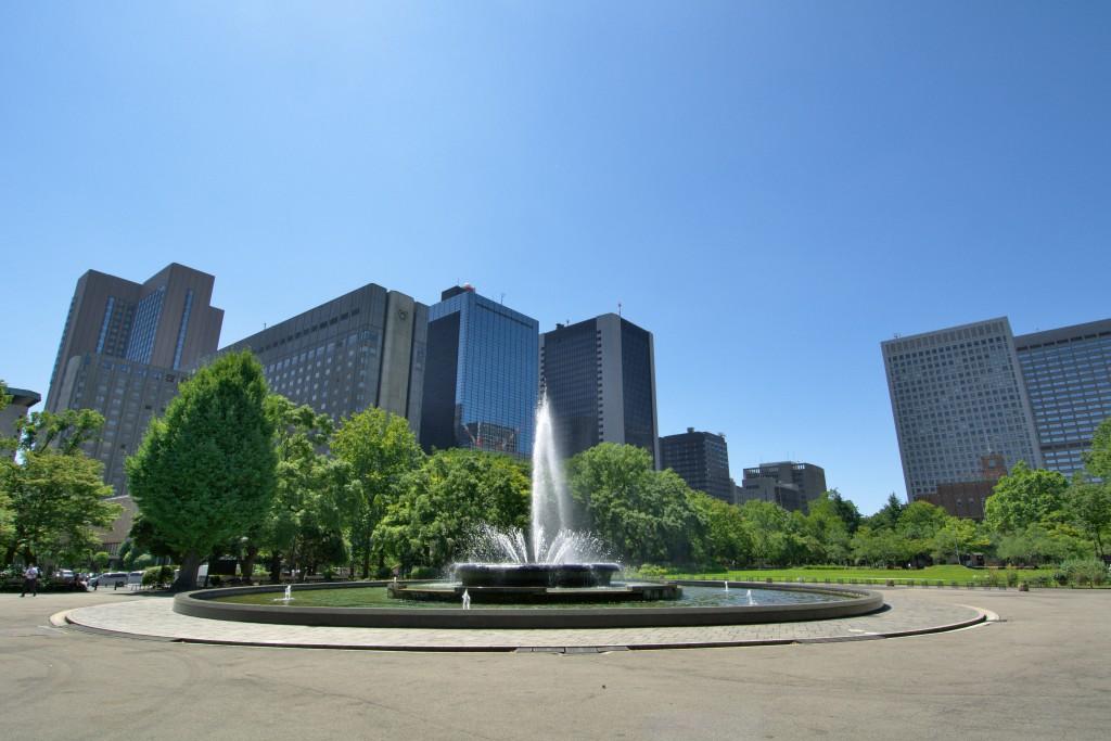 登録初年度となる2007年(平成19年)にランドスケープ遺産に登録された日比谷公園<br>写真提供:公益財団法人東京都公園協会