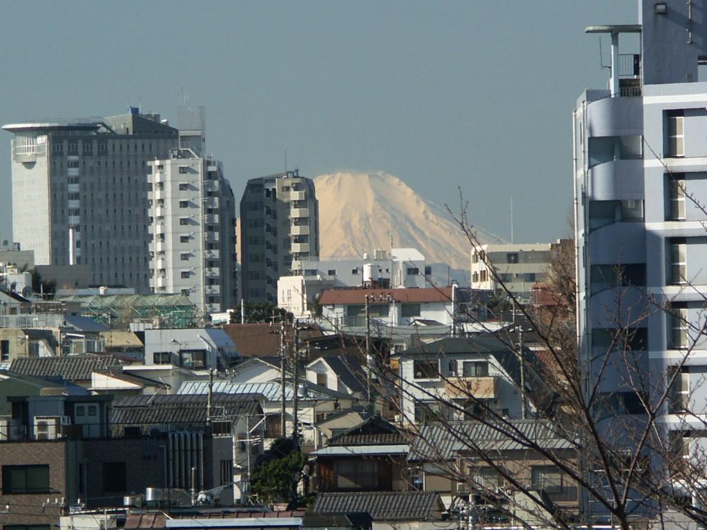 富士見坂からの眺望(2005年)石川正氏撮影