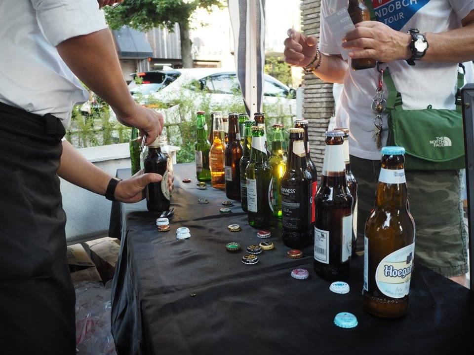 満月BARで出しているビール