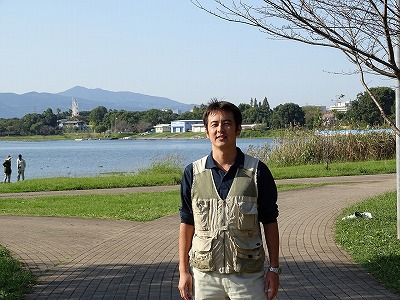 (一社)熊本市造園建設業協会 水前寺江津湖公園管理事務所 遠藤茂樹さん