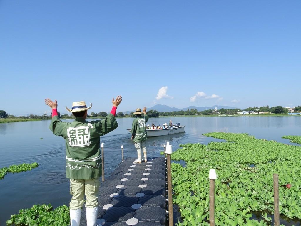 江津湖みなも祭りでの江津湖水上クルーズ