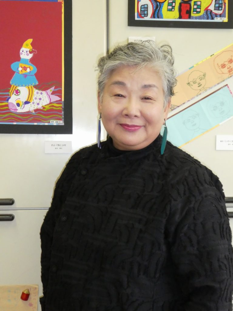 「西公園を遊ぼうプロジェクト」代表の<br>関口怜子さん