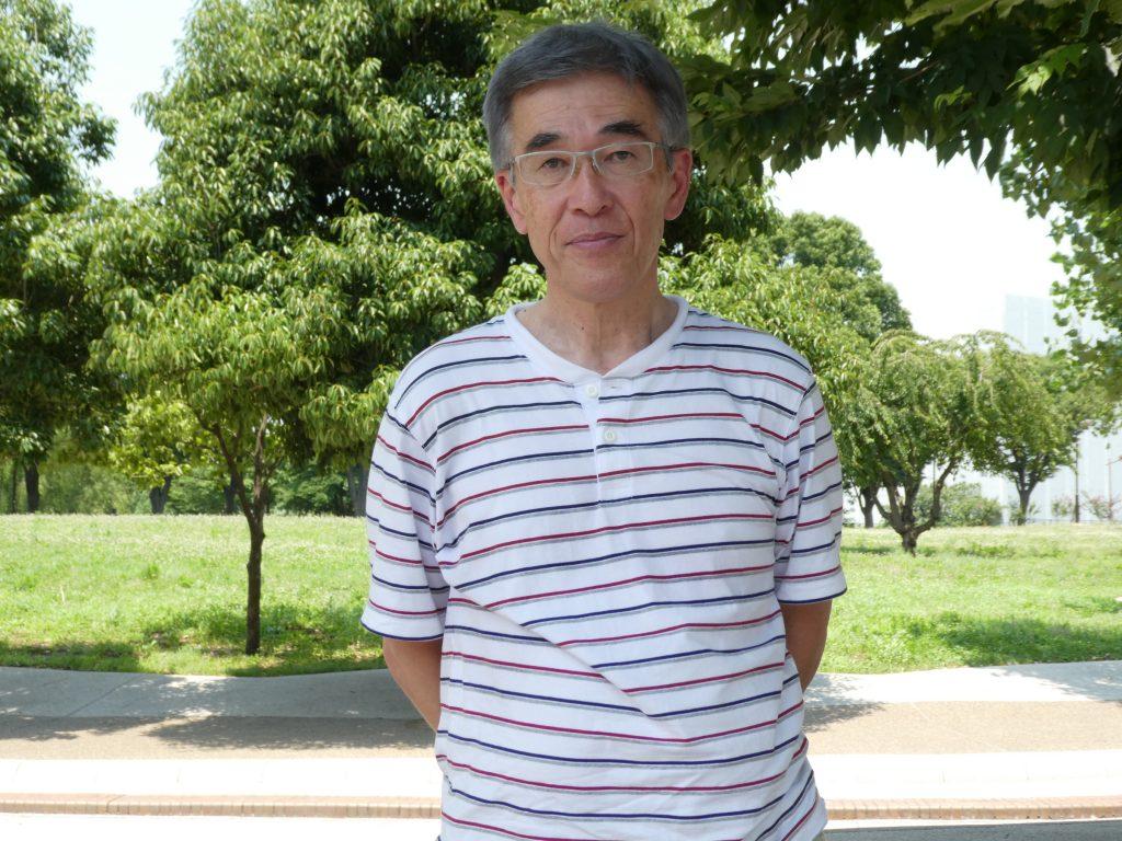 「尾久の原愛好会」会長の石川正さん