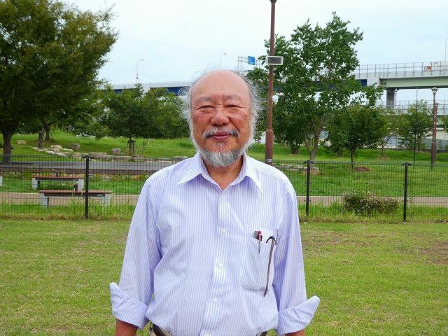 「みなとのもり公園運営会議」代表、辻信一さん
