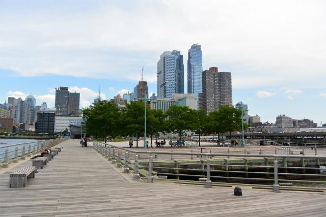 桟橋を公園に。ハドソン・リバー・パーク