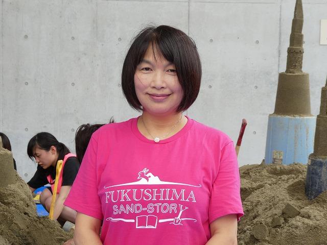 NPO法人「福島SAND-STORY」事務局長<br/>河内ひろみさん