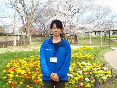 木曽三川公園管理センター 柴田 雅子さん