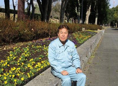 坂出緩衝緑地管理事務所 所長 田辺 剛久さん