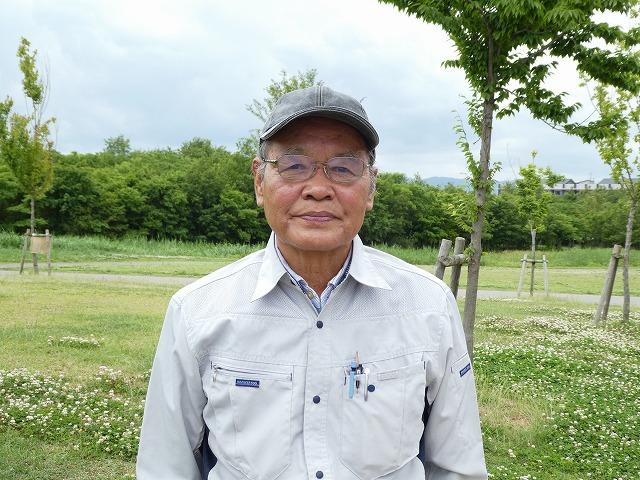 「ふくの会」代表の遠藤哲雄さん