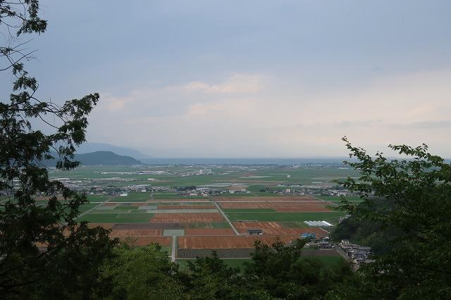 「市民の森」周辺には田んぼや麦畑が広がる