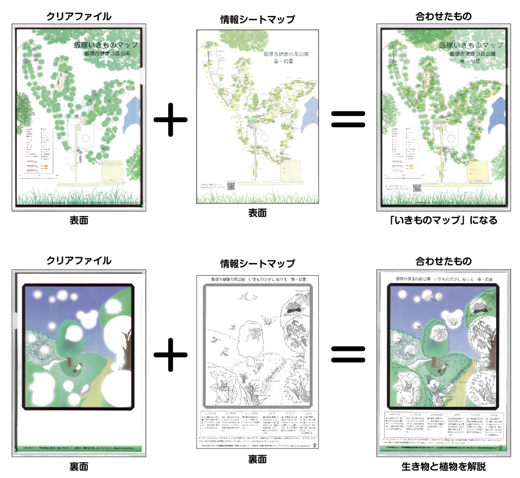 図1 作成した「いきものマップ」