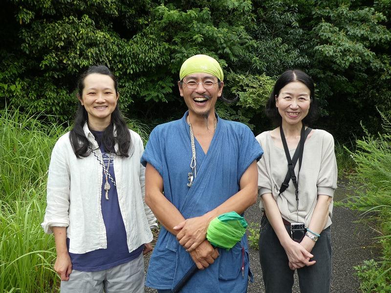 左から あそびはかせの成本麻衣子さん、岸本×太さん、もりはかせの後藤ようこさん