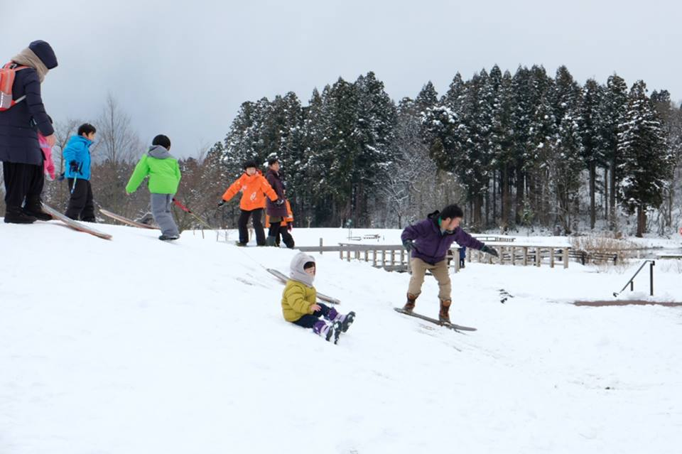 2月に開催している「雪ん子くるくる」