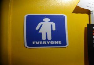 アメリカのユニセックスのトイレ