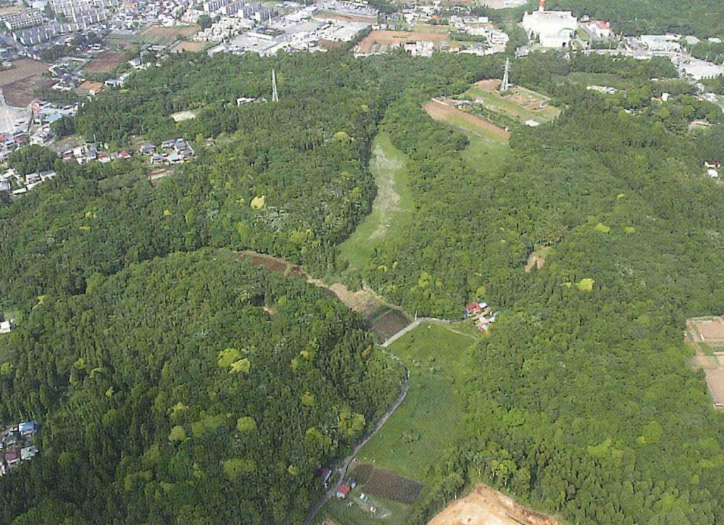 みゆちゃんが訪れた里山(イメージ)