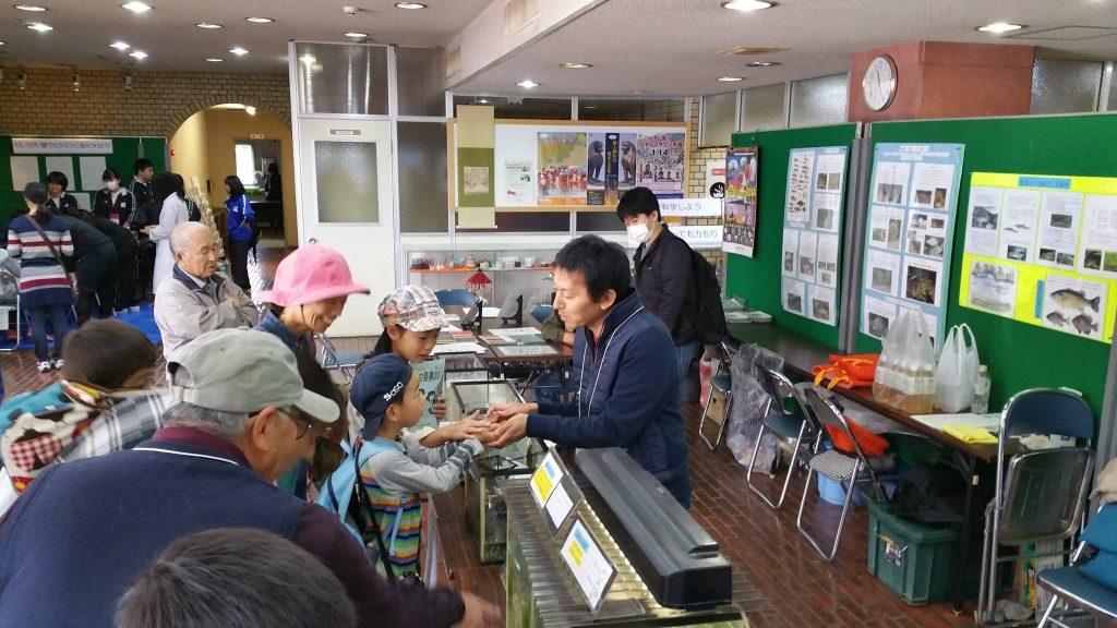 亀山市の科学の祭典で毎年展示を行っている