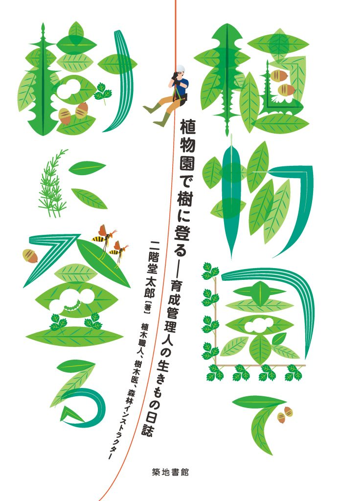 植物園で樹に登る-育成管理人の生きもの日誌