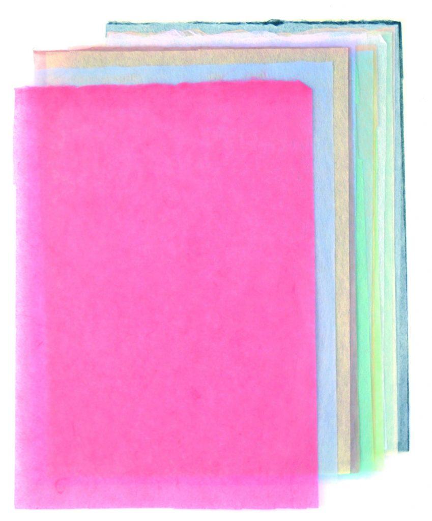 薄く均質で破れにくい<ruby>「土佐典具帖紙」<rt>とさてんぐじょうし</rt></ruby><br/>(写真提供:いの町紙の博物館)
