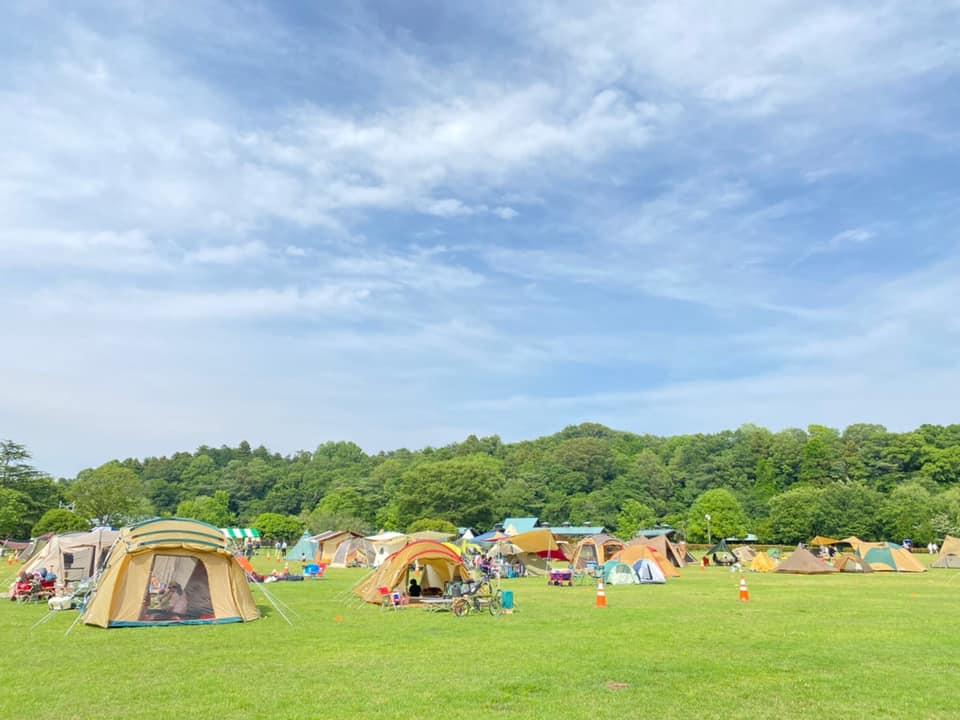 第一会場の小山総合公園含め、キャンプ当日の公園の出入りは24時間可能にした