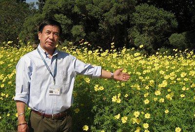 国営木曽三川公園 管理センター長 古根 聡さん